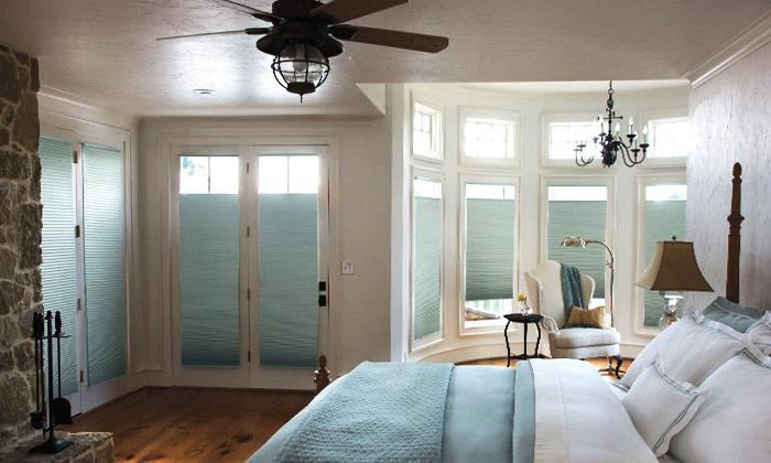 Room Darkening Cellular Shades Room Darkening Designer Textures Single Cell Shades