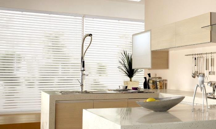 "Light Filtering Fabric Horizontal Blinds 2"" Light Filtering Fabric Slat Horizontal Blinds"