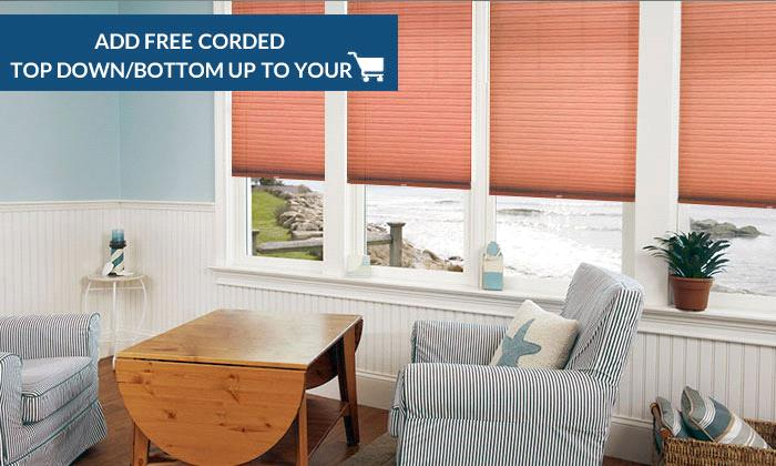 "Single Cell Light Filtering Cellular Shades Better 9/16"" Single Cell Light Filtering Shades"