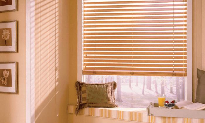 "Cordless Wood Blinds Cordless 2 1/2"" Wood Blinds"