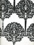 Astek Wallpaper Vc0832 Screen Print Wallpaper