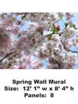 Flower Mural Wallpaper, Flower Murals Wallpaper