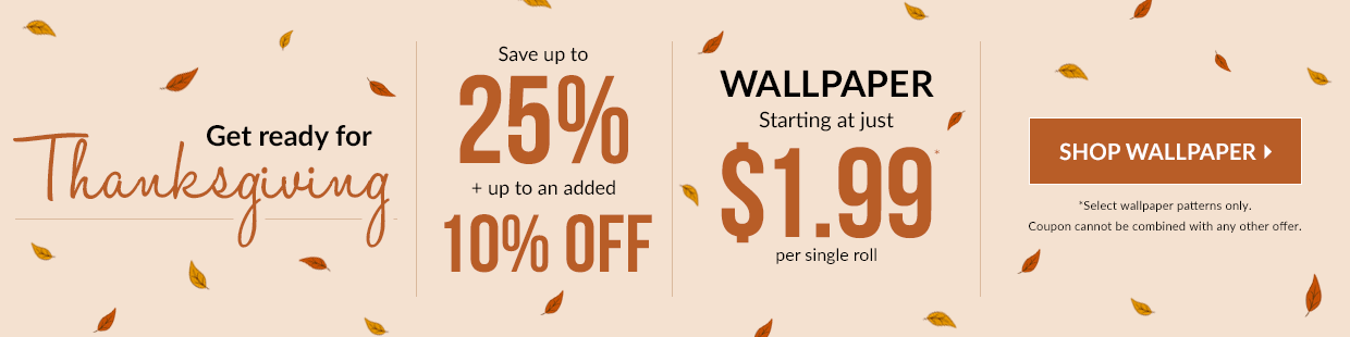 Save on Wallpaper
