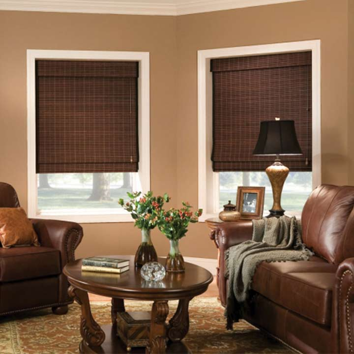 Discount woven wood shades