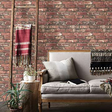 Shop Faux Brick Wallpaper