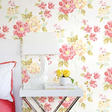 Shop Floral Wallcovering