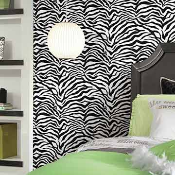 Shop Zebra Wallpaper