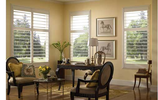 Mounting shutters when window has a divider rail