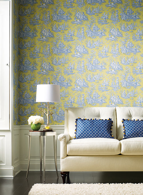 Order Waverly Wallpaper Samples To View The Designs And Color In Your Home Before You
