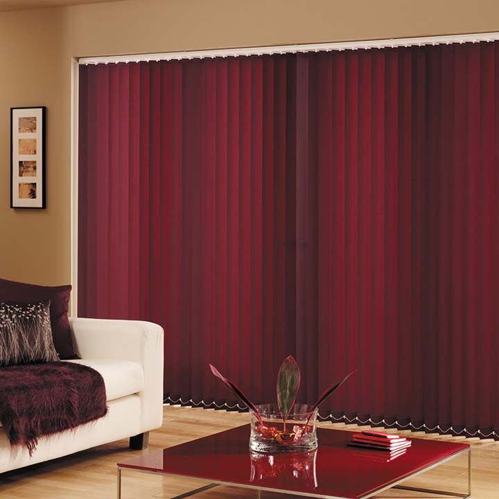 Living room window blinds and shades steve 39 s blinds for Living room vertical blinds