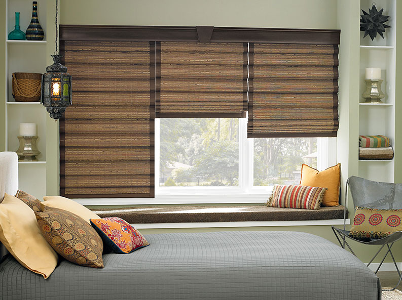 Bamboo Amp Woven Wood Shades Steve S Blinds Amp Wallpaper